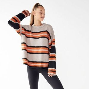 75d40e6c94 Urban Outfitters Sweaters - UO Bobby Boyfriend Striped Crew-Neck Sweater